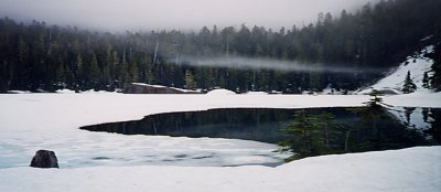 Flapjack Lakes in winter